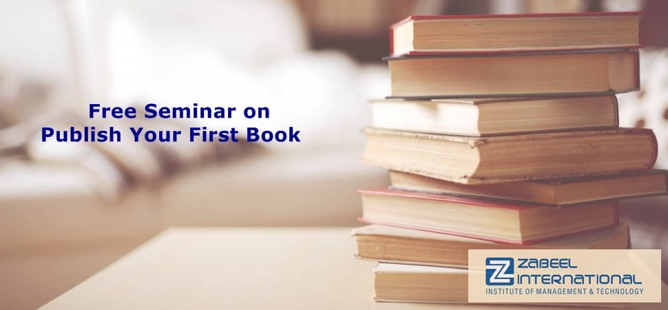 free seminar on publish your first book