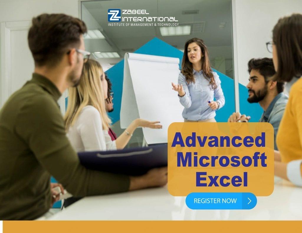 ms advance excel